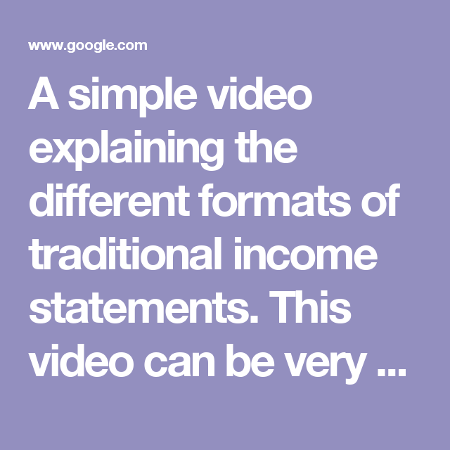 Devante Cross A Simple Video Explaining The Different Formats Of