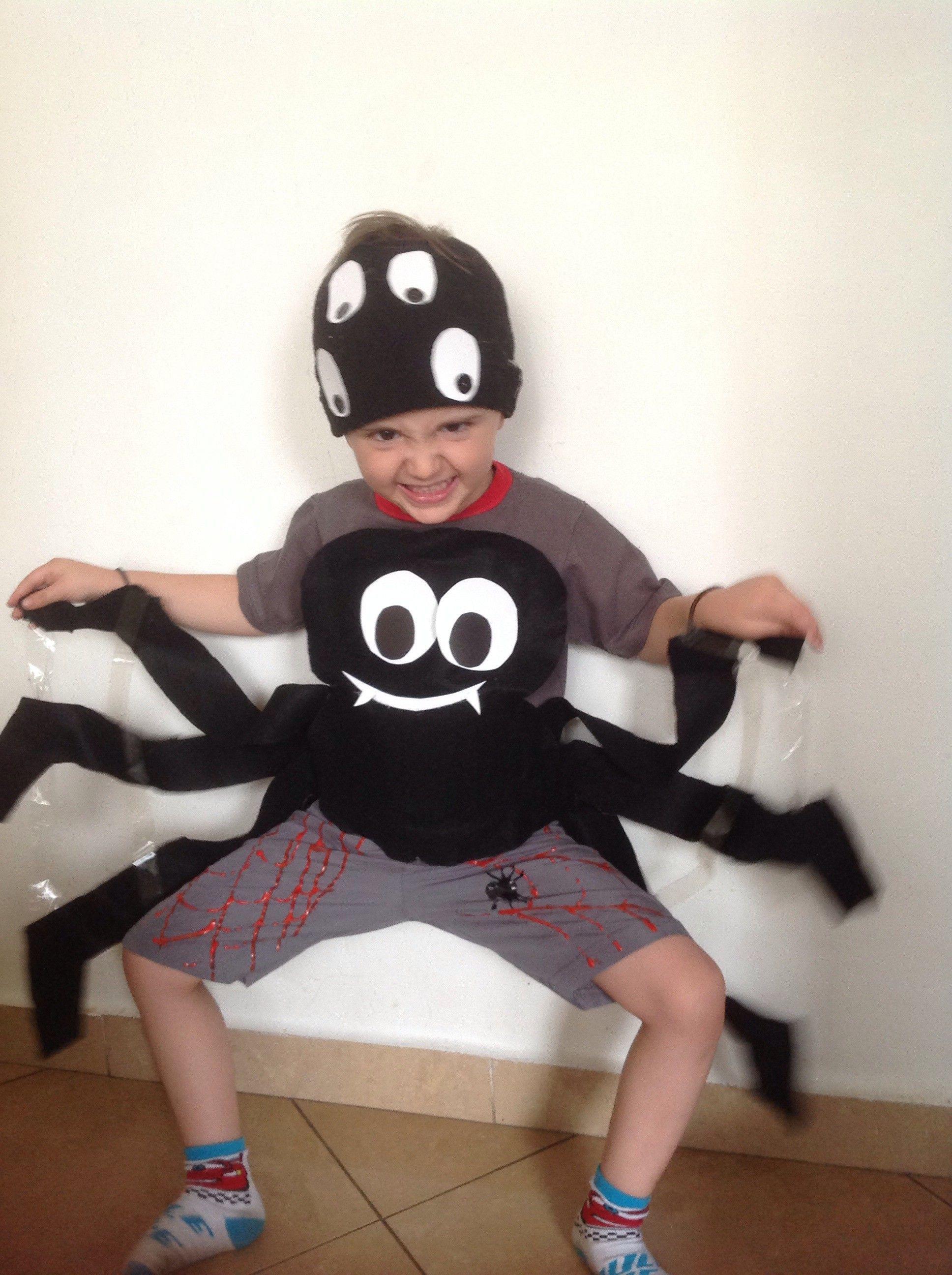 Adesivo Envelopamento Automotivo Preto ~ Fantasia aranha para Halloween (sem usar linha e agulha