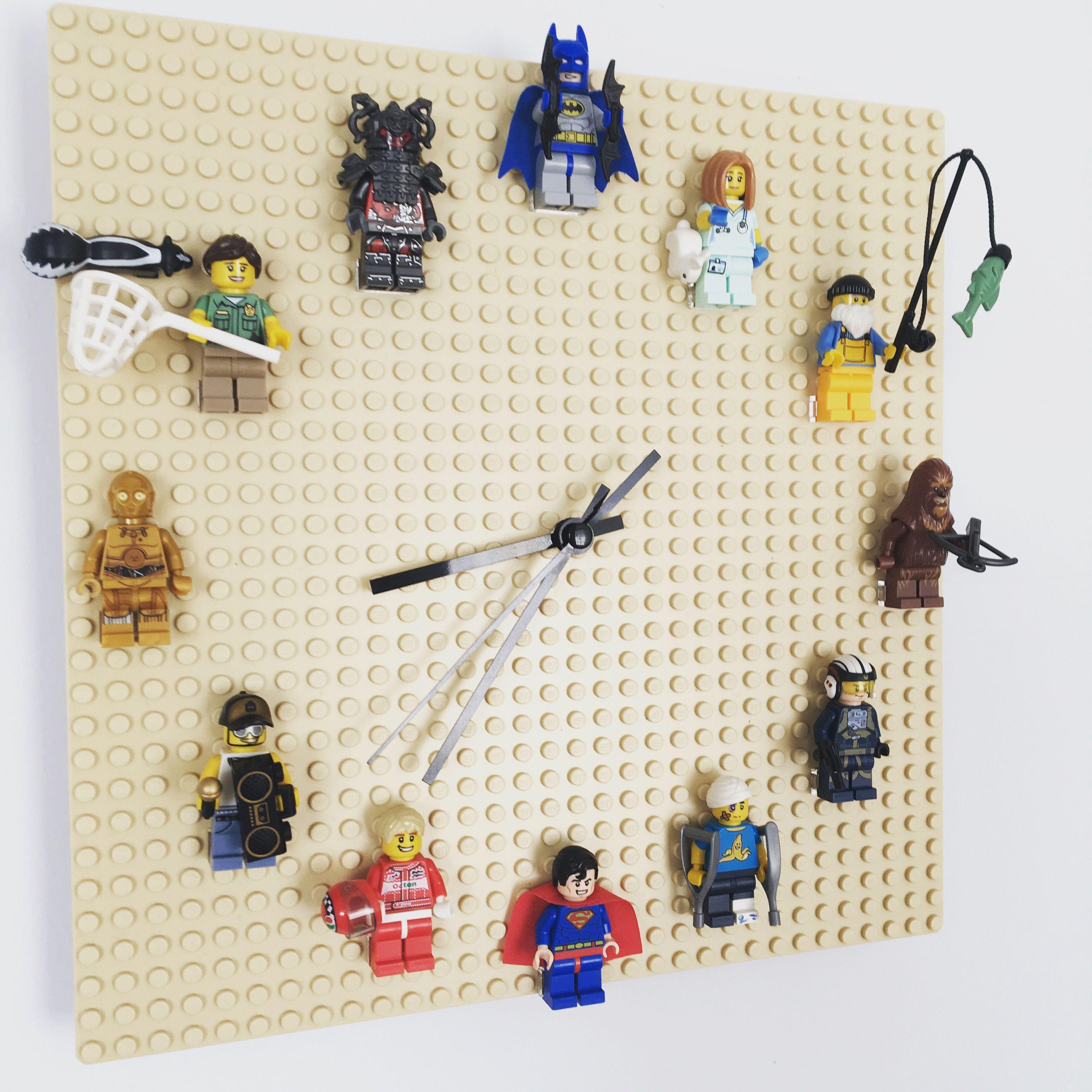 Our Lego Clock Diy Legoclock Legodiy Lego