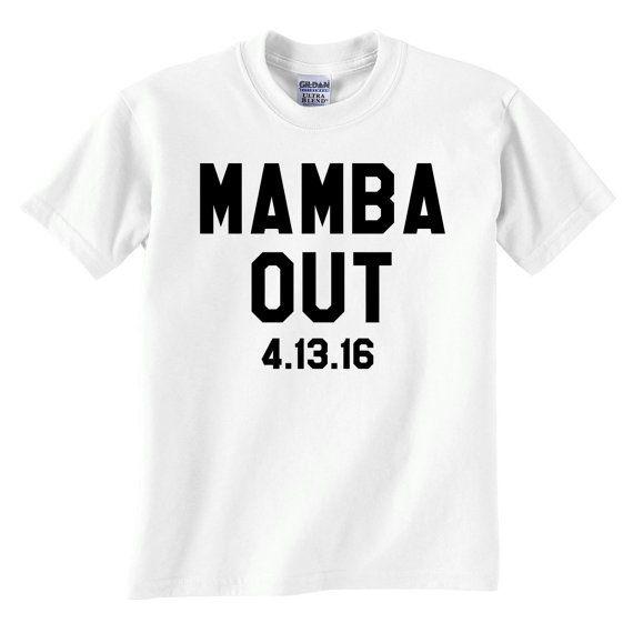 Mamba Out Tshirt  Free Shipping  Mamba Out Shirt  Kobe by impulsee