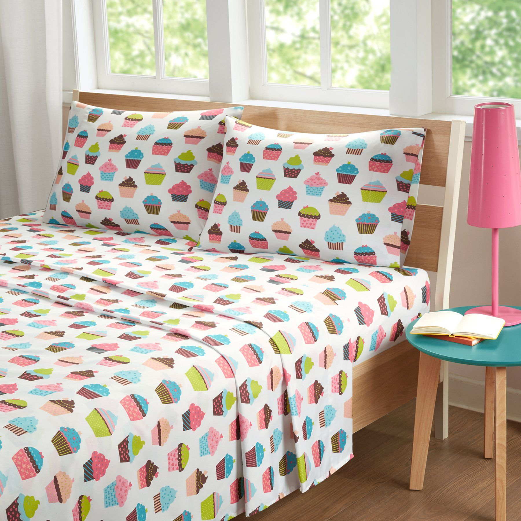 Cupcake Dreams Kids Sheet Set By Mi Zone  Mz20 0550