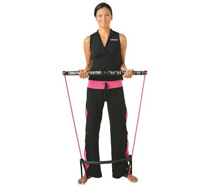Bodygym portable home gym resistance system f u qvc