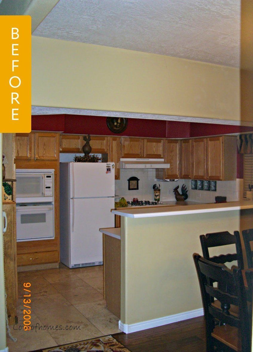 Kitchen Before & After A Chaotic Remodel Leads To A Big Payoff
