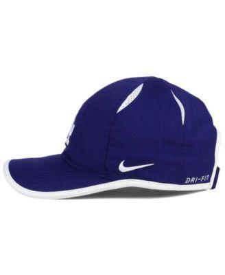 e4d5f199 Nike Los Angeles Dodgers Dri-fit Featherlight Adjustable Cap - Blue  Adjustable