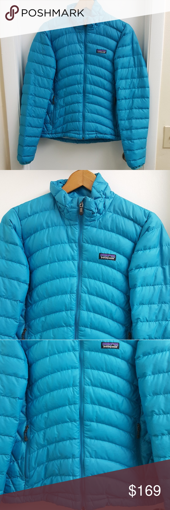 Patagonia down puffer jacket size medium (With images