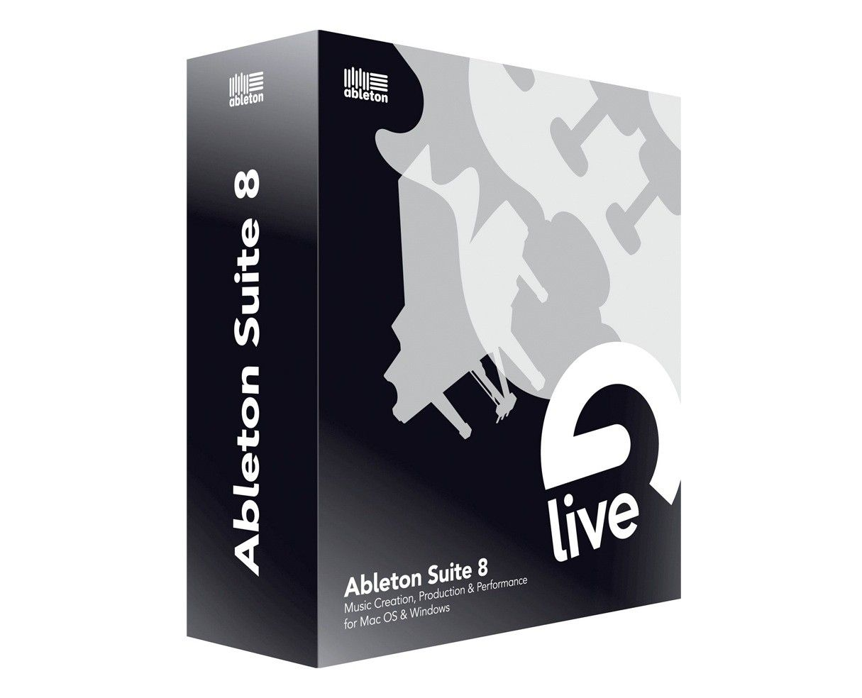 My daw music software ableton live digital audio