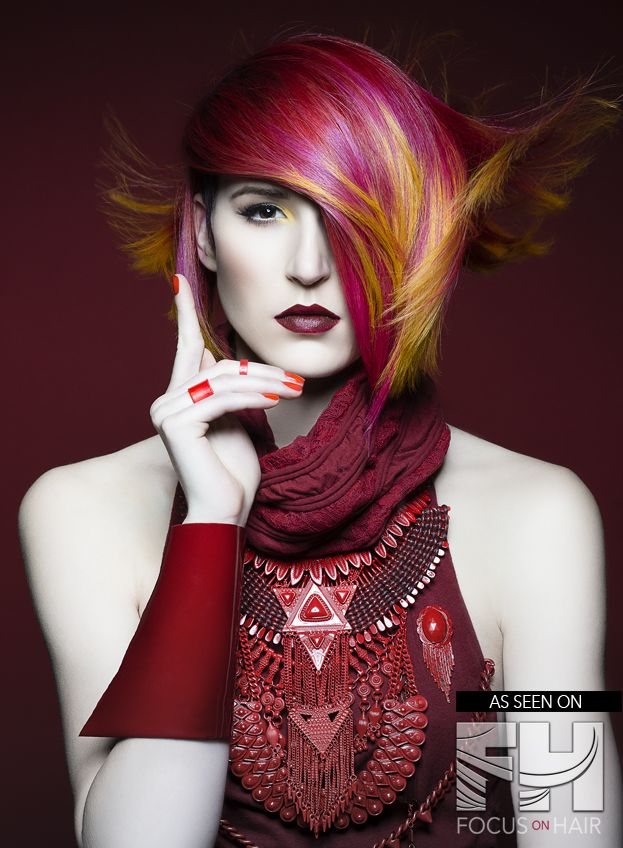 Jake Thompson Goes Tone On Tone For Radiant Red Hued Collection