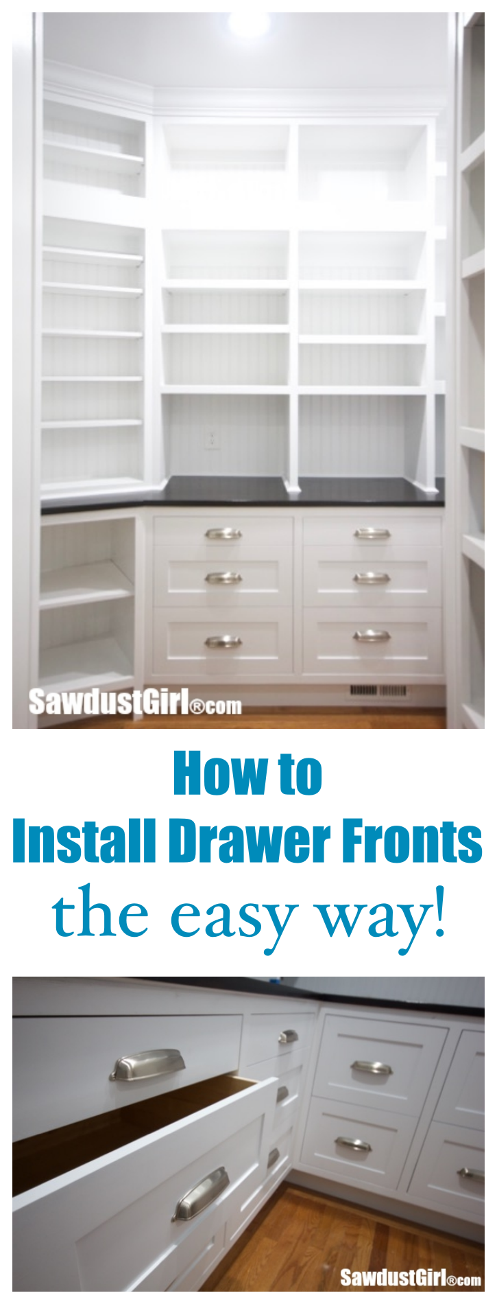 Best How To Install Cabinet Drawer Fronts Drawer Fronts Home 400 x 300