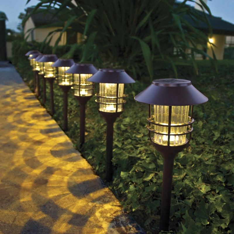 Outdoor Patio Lights At Costco: Trubright Solar LED Large Pathway