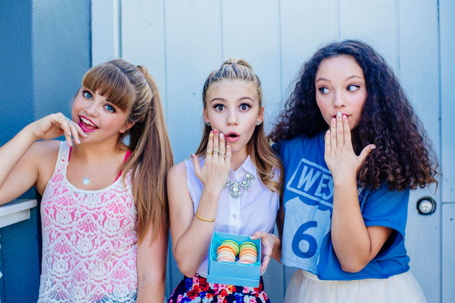 G Hannelius Make Me Nails — Cluber
