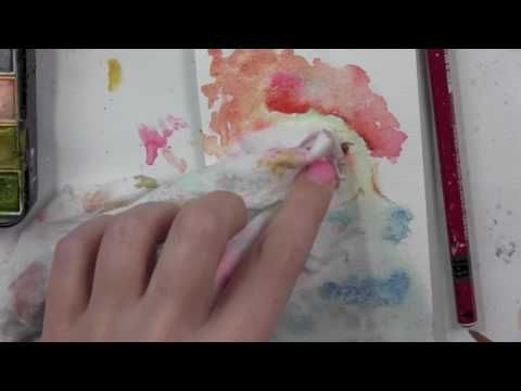Watercolor 101 On Facebook Live With Mindy Lacefield Youtube