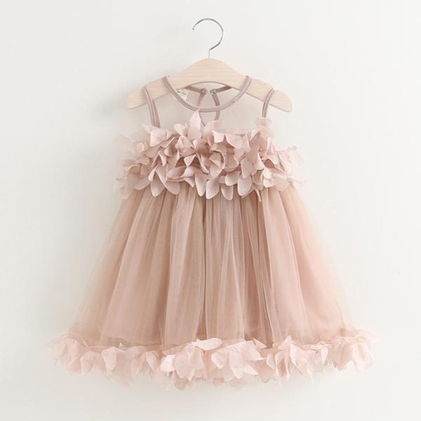 74ac19670b8 Bear Leader Girls Dress 2018 New Summer Mesh Girls Clothes Pink Applique  Princess Dress Children Summer Clothes Baby Girls Dress