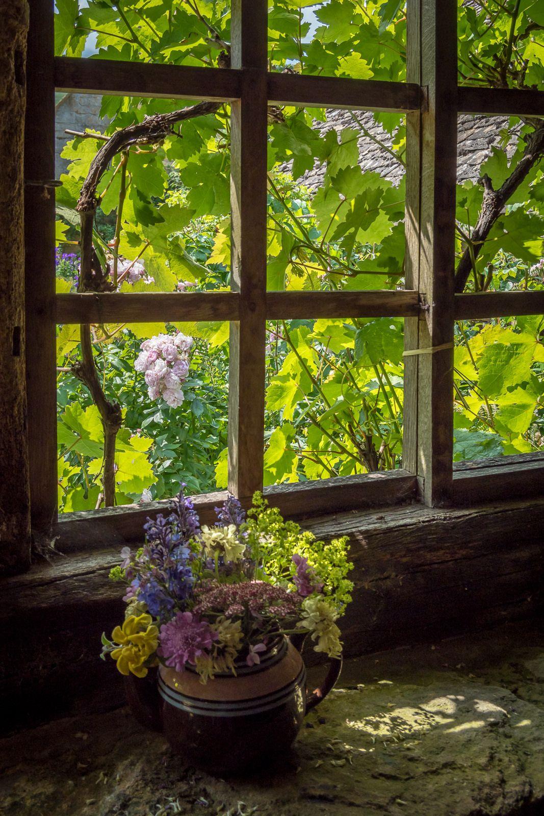 Окна в деревне фото