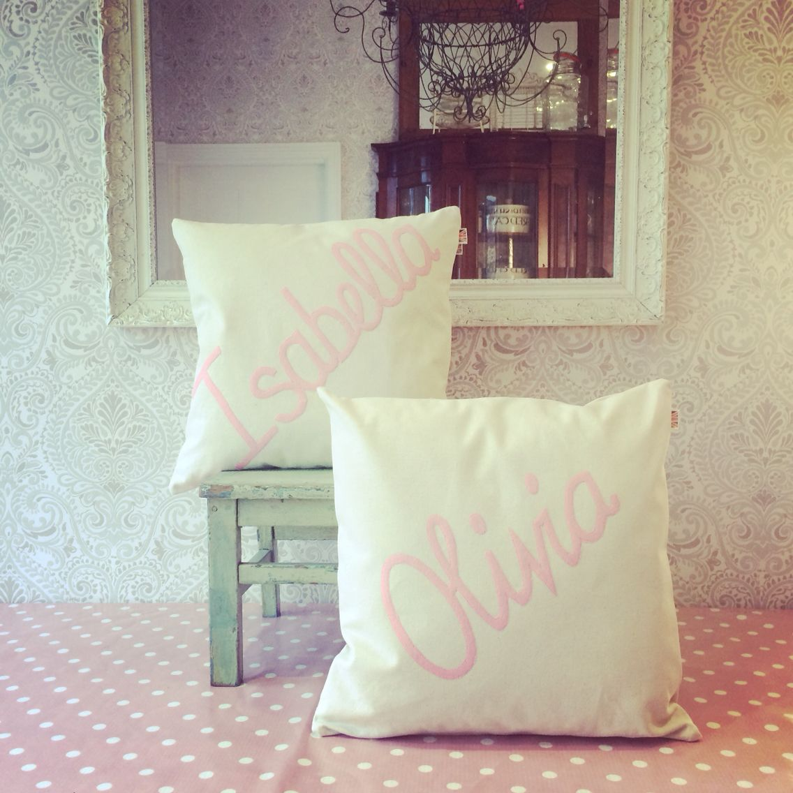 Baby pink #cushion Cheeky Sew & Sew
