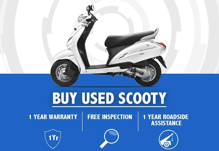 Buy Used Scooties With Confidence In Delhi Ncr 1 Year Warranty 1