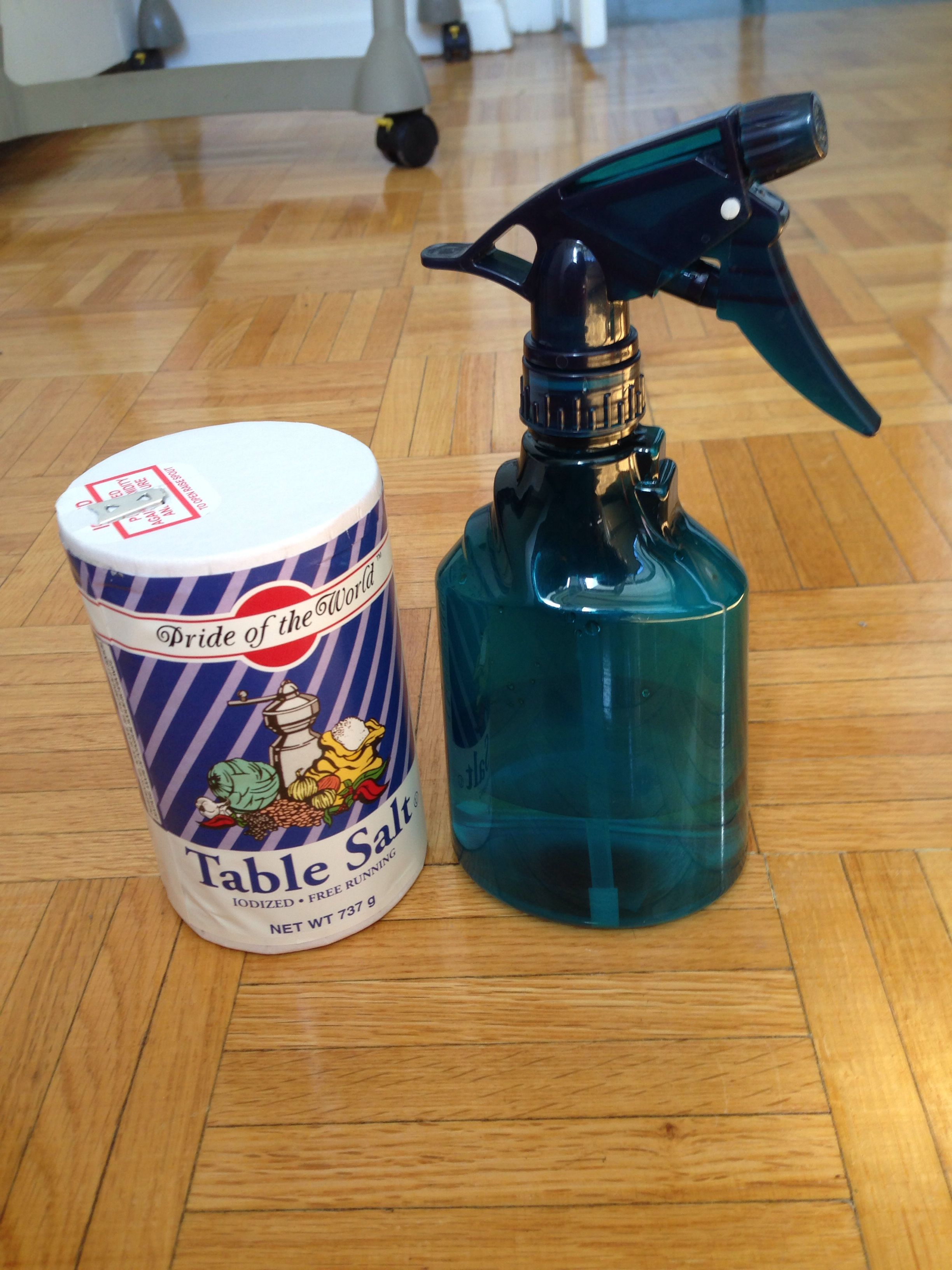 Fast way to tan any iodized sea salt spray bottle and
