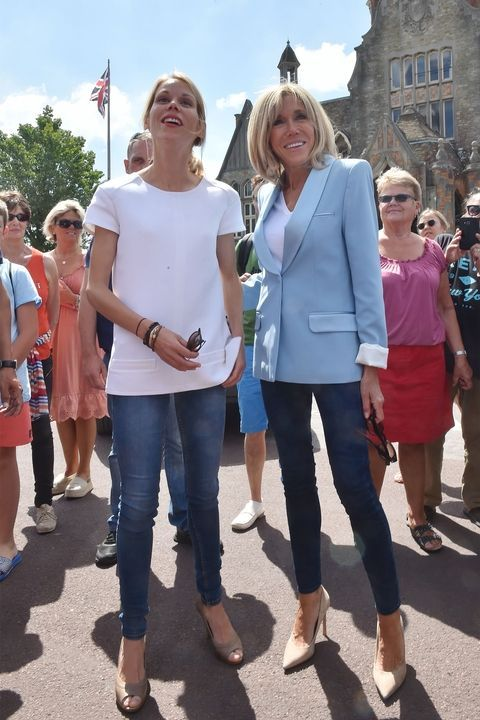 Brigitte Macron S Tres Chic Style French First Lady First Lady Fashion