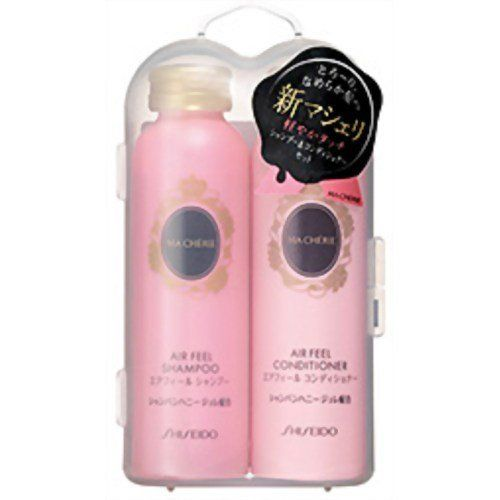 Shiseido Macherie Shampoo Conditioner Set Air Feel Shampoo 50ml Conditioner 50ml Japan Import By Macherie 61 91 Hair Beauty Cat Beauty Hair Care