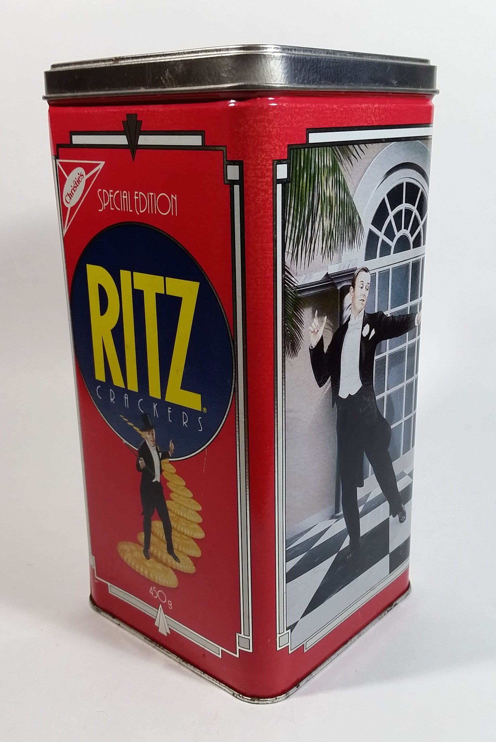 1990 Christie S Limited Edition Ritz Crackers Tin Nabisco Brands Ritz Crackers Ritz Nabisco