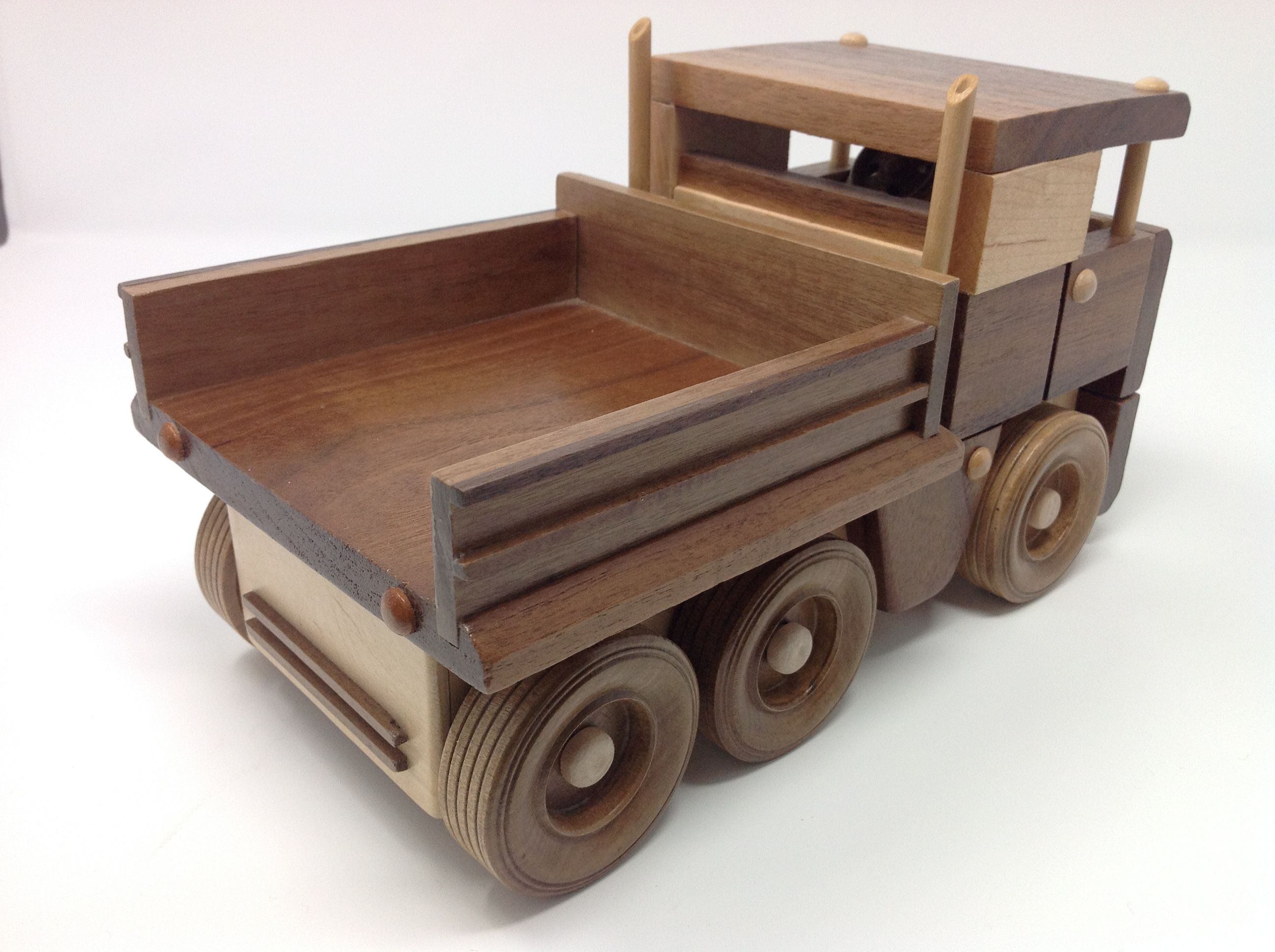 Hand Made Wooden Toy Truck