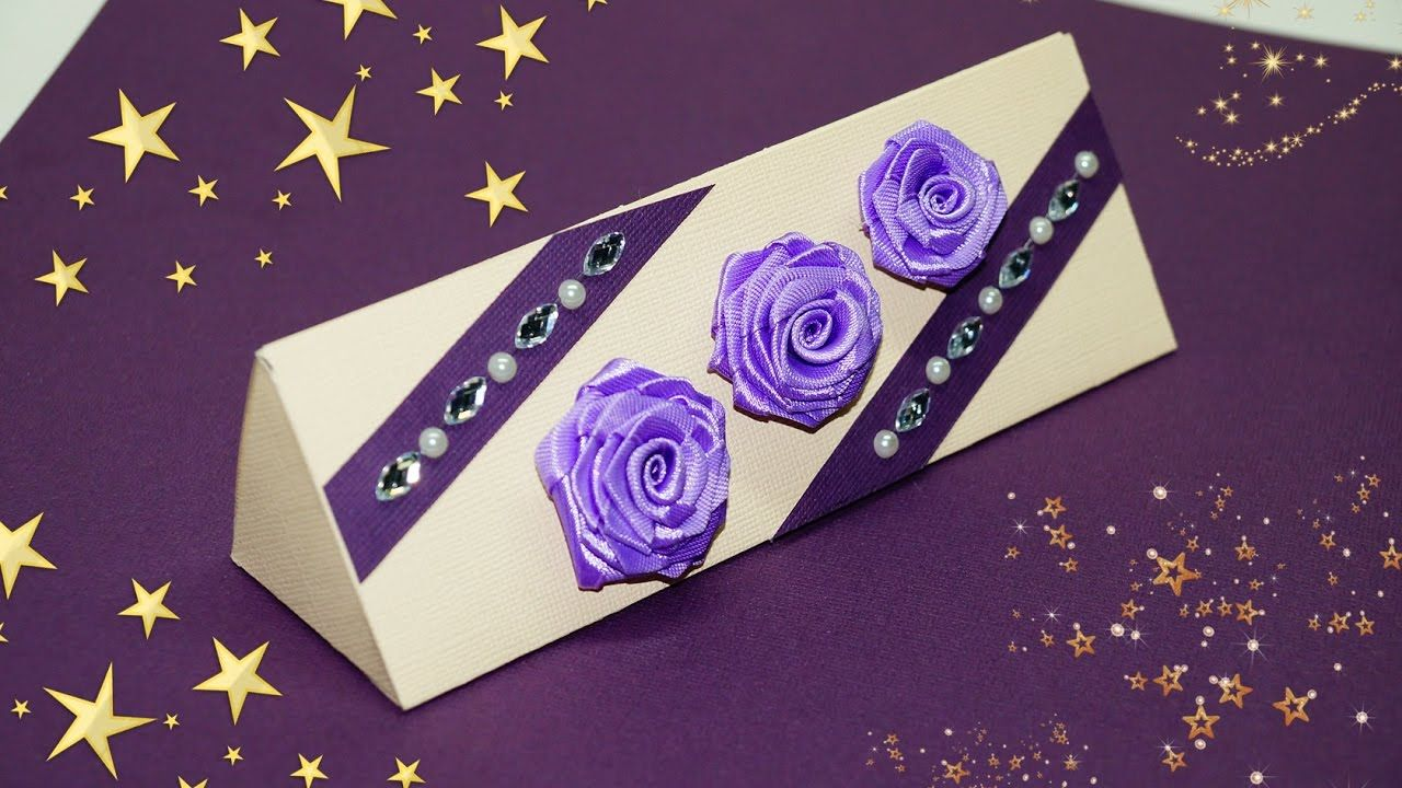 diy paper crafts idea how to make gift box at home gift box
