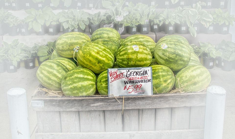 Free Image on Pixabay Watermelons, Fruit Stand, Fruit