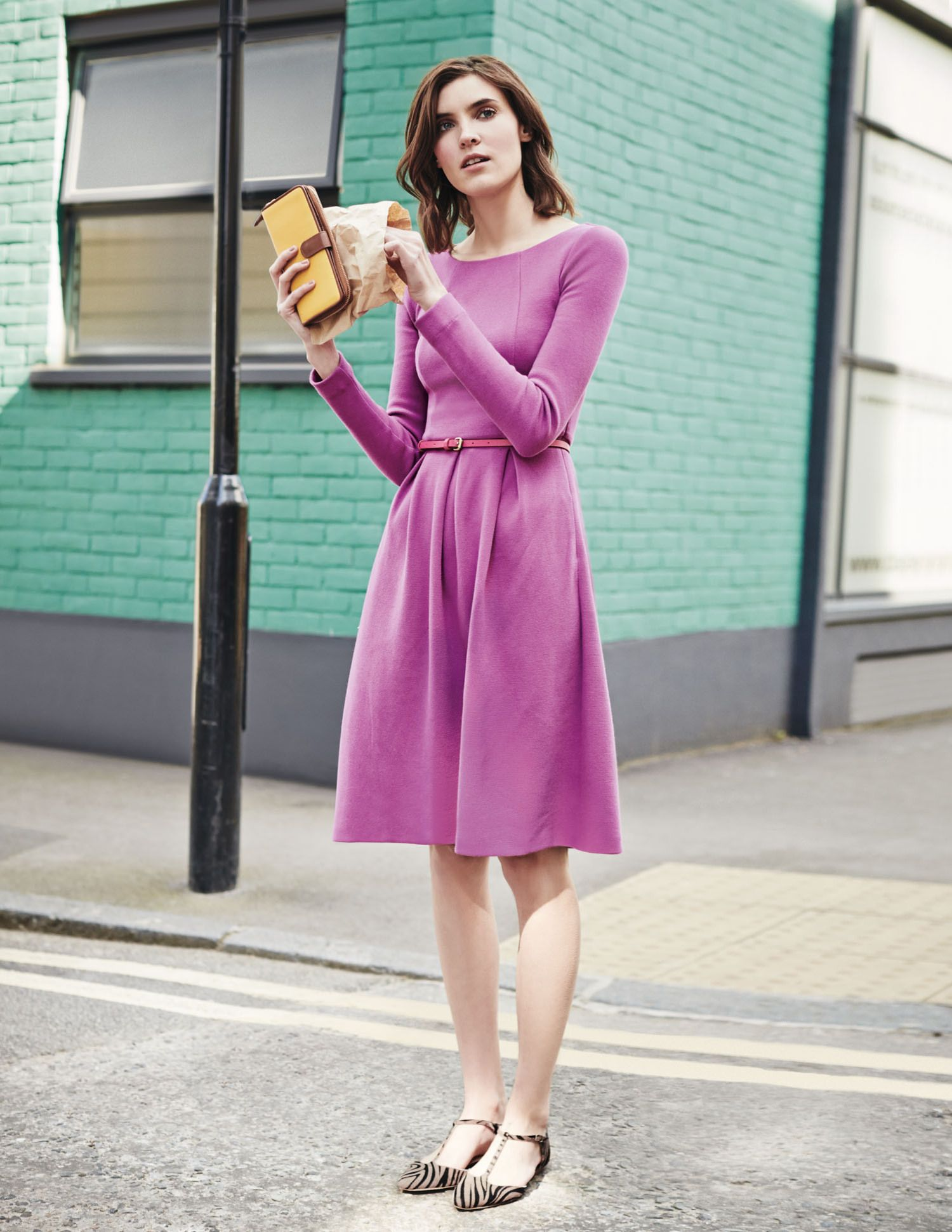 Perfect ponte (best accessorised with a zebra stripe or two!) #Boden ...