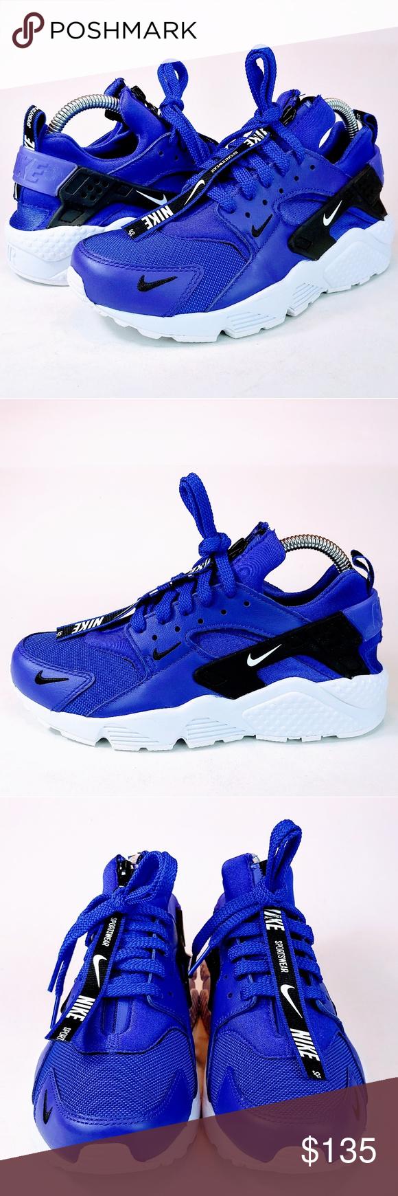 SOLD💥 Nike Air Huarache Run Premium Indigo (With images