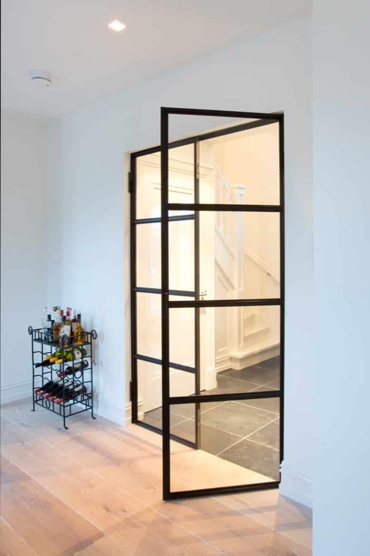 Stalen deuren draai deur in hal - Steel | Thuis Interieurontwerp ...