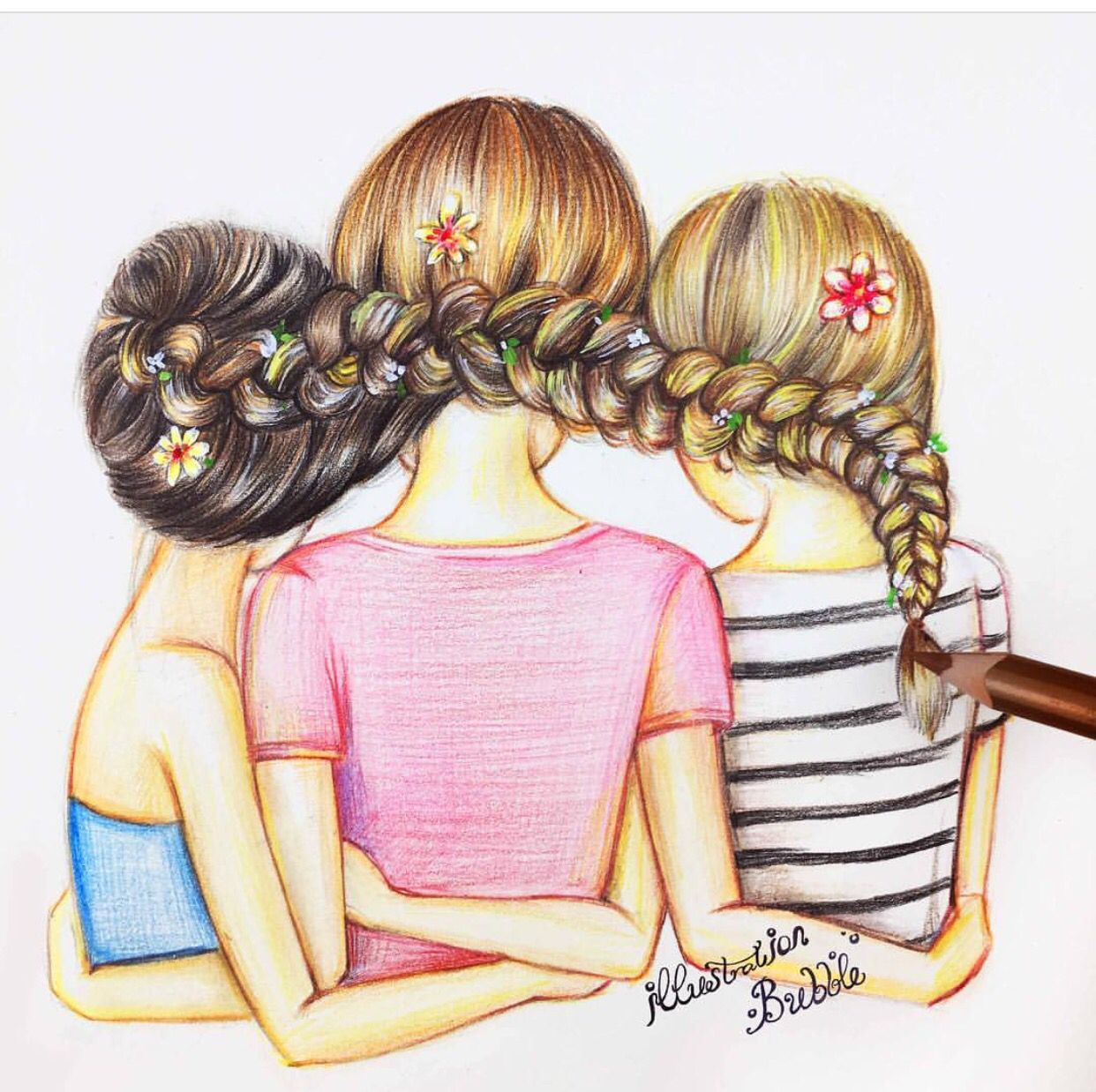 Best friends nice try friends friends pinterest for Best drawings to draw