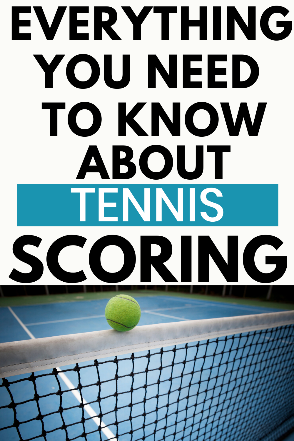 What are the terms in tennis
