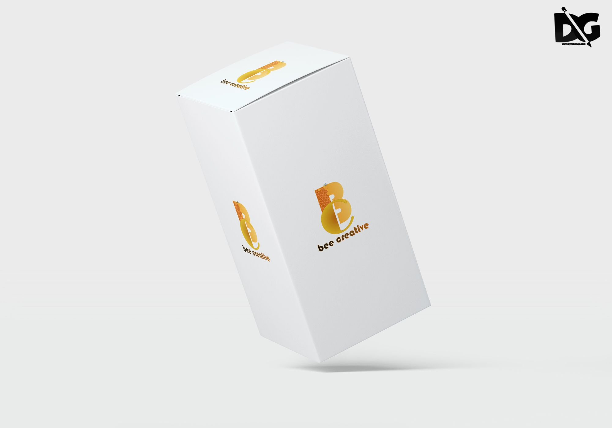 Download Open Big Tilt Acrylic Box Mockup | Acrylic box, Box mockup ...