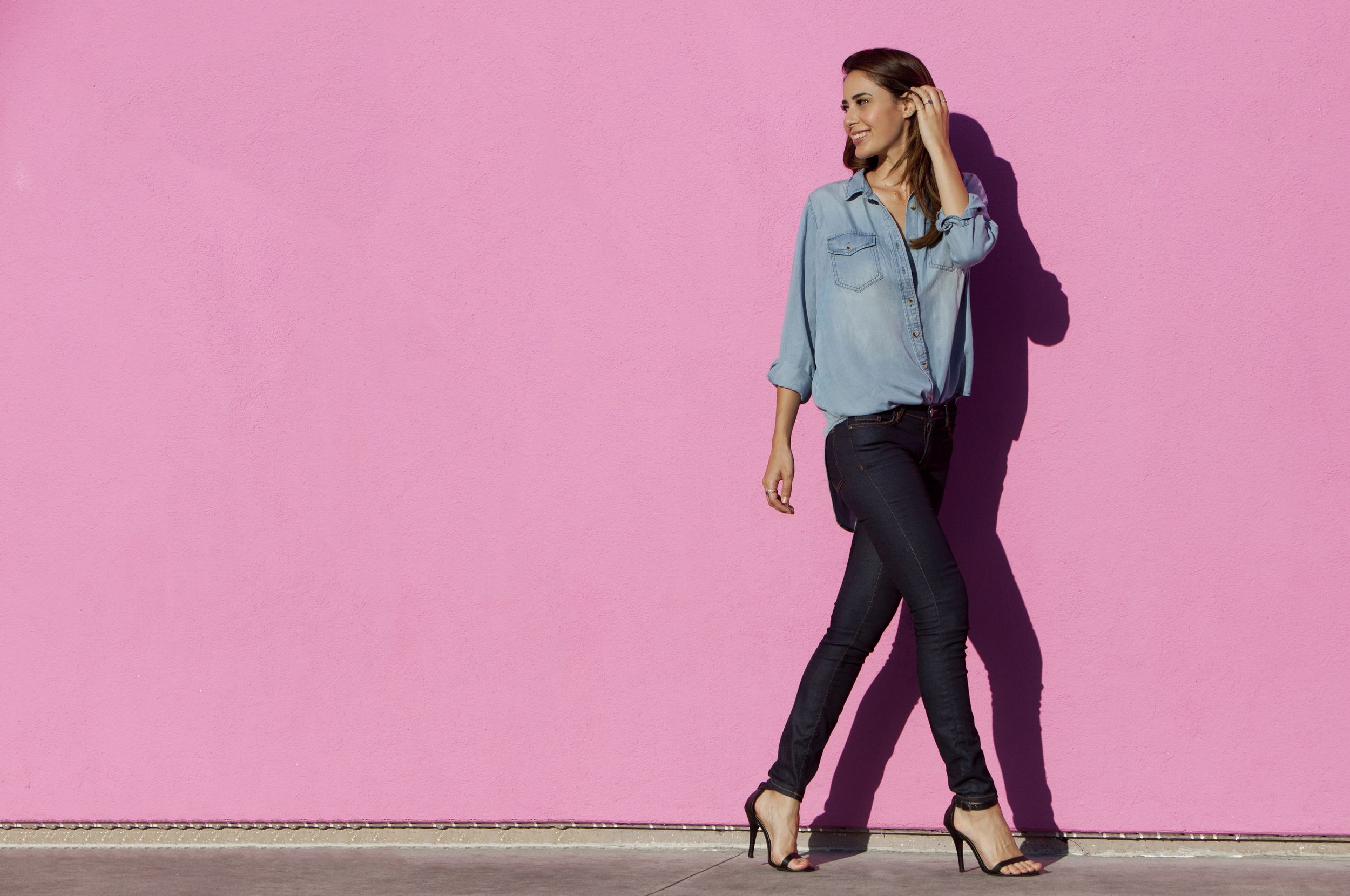 The double-denim trend (or as I remember it being called the Canadian Tuxedo) is being pushed by retailers this fall.