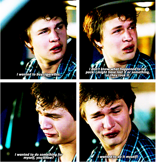 "Augustus Waters, The Fault in Our Stars, 2014 ""There is ..."