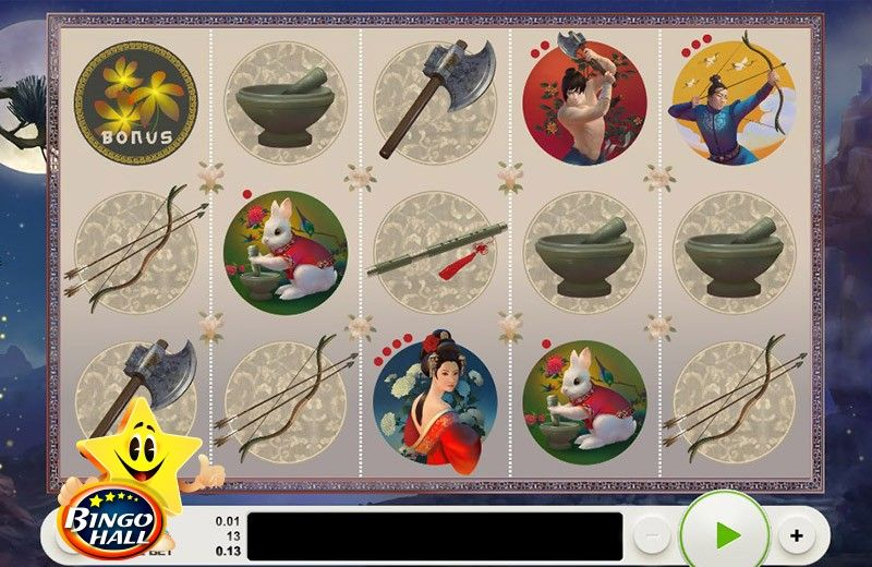 Explore the fascinating ancient Chinese times brought to you by the newest video slots game, Lady of the Moon.