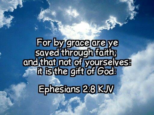Picture Quote On Ephesianns 210 Niv: Ephesians 2:8 KJV