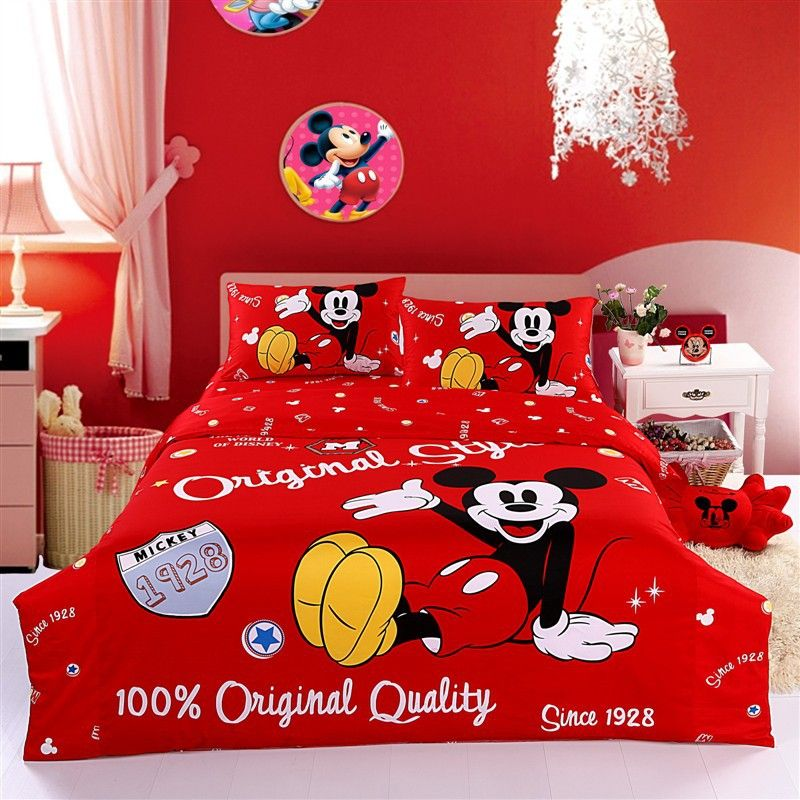 Free Shipping Mickey Mouse Comforter Sets Mickey Mouse