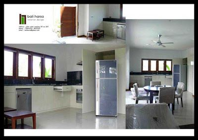 Kitchen Set Simple Design With White Duco Finish Idea For Kitchen