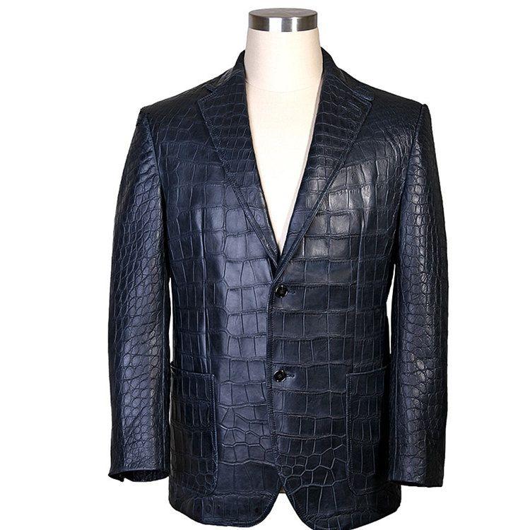 ba831fb95 Exotic Alligator Skin Jacket for Men in 2019 | urban elegance Men's ...