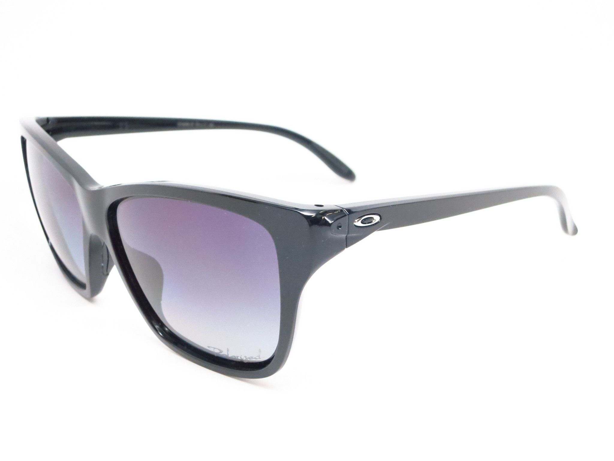 6c54ba19a377c Oakley Hold On OO9298-06 Polished Black Polarized Sunglasses ...