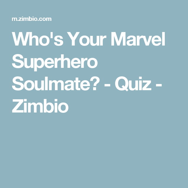 who is my soulmate quiz free