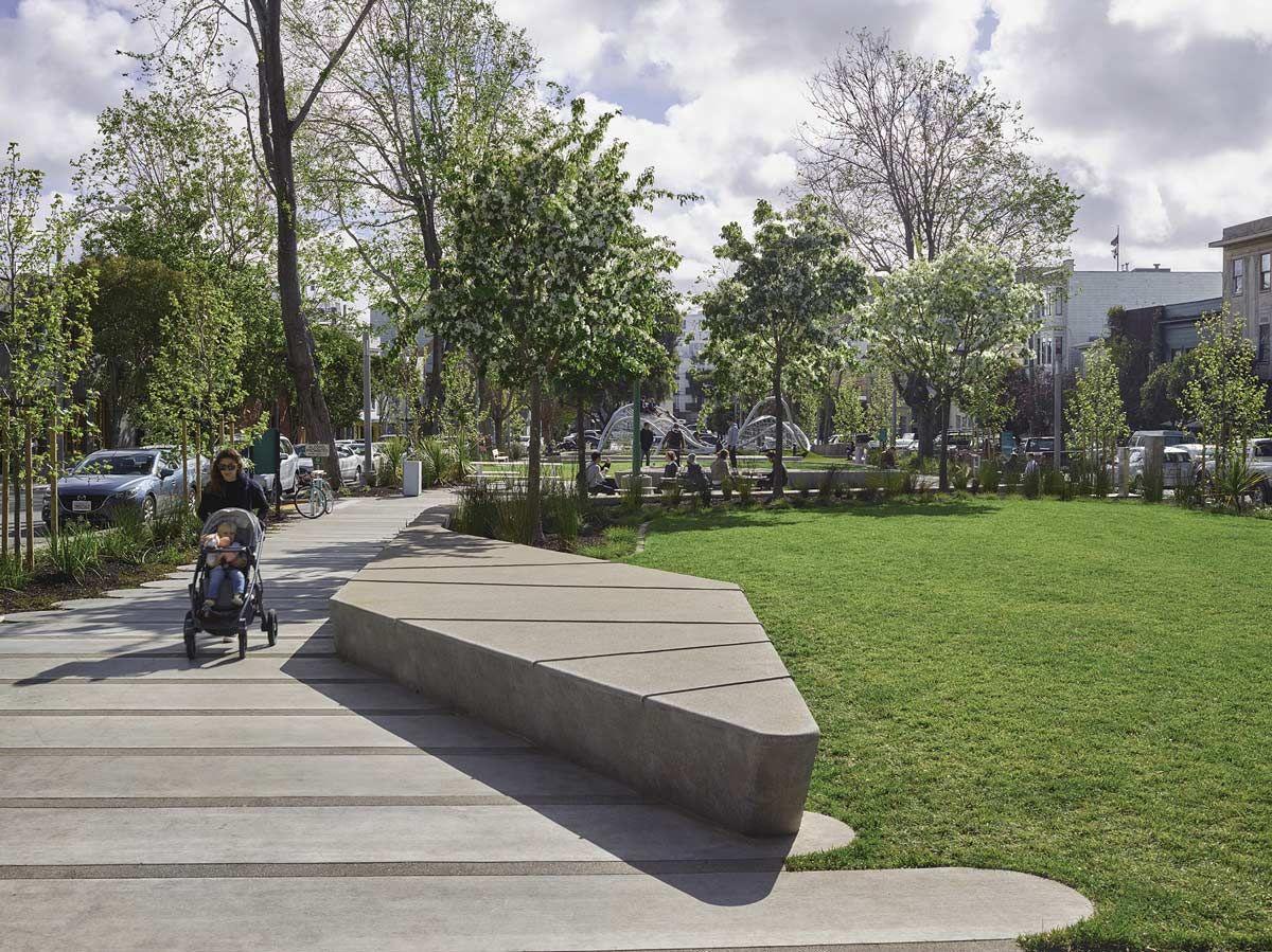 South Park San Francisco By Fletcher Studio Landscape Architecture Works Landezine Landscape Architecture Landscape South Park