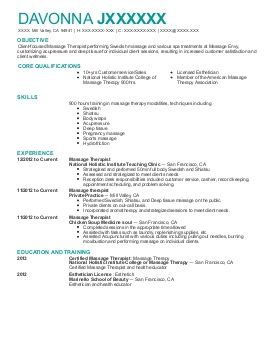 Find Graded California Mill Valley Beauty And Spa Resume Examples