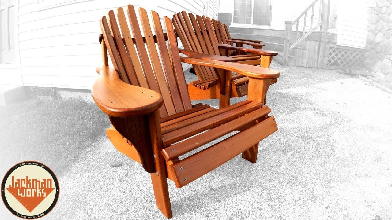 How To Build The Ultimate Adirondack Chair Youtube