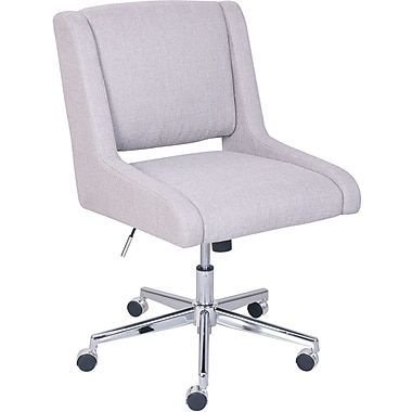 Broyhill Lynx Fabric Computer And Desk Chair Oatmeal