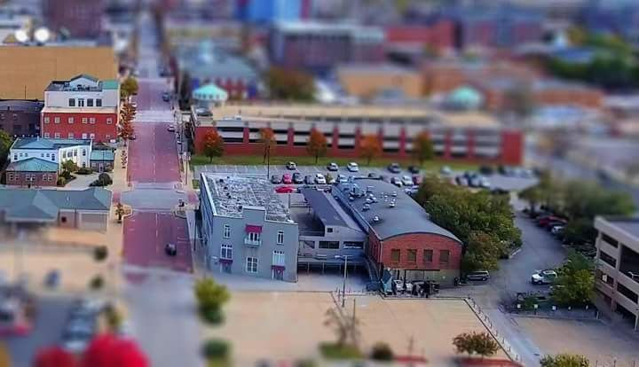 More Diorama pics of downtown Columbia, MO using tilt ...