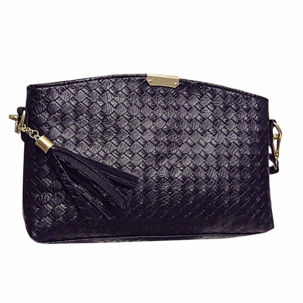 Women's Clutches New Designer Brand Crossbody Weave Bags Women ...