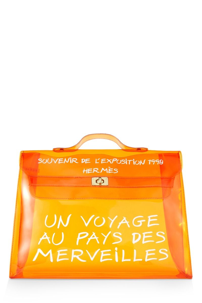 Photo of Limited Edition Orange Vinyl L'Exposition 1997 Kelly 40cm