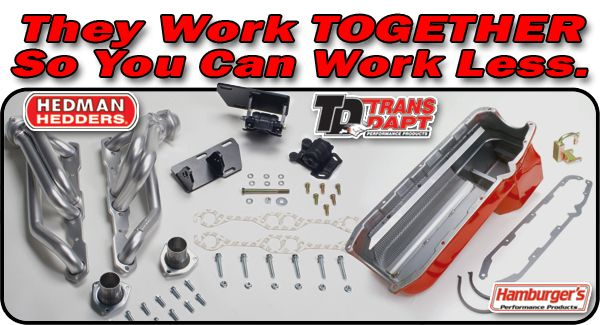 V8 Into S10 Engine Swap Kits