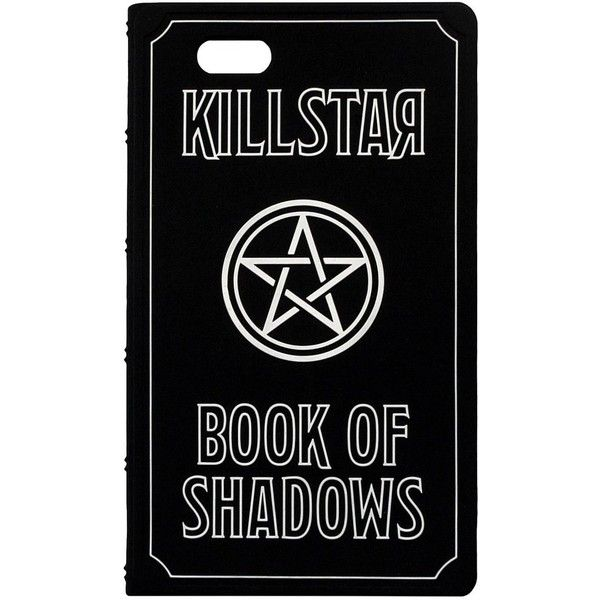 Book Of Shadows iPhone Cover [6+] ❤ liked on Polyvore featuring accessories, tech accessories, iphone silicone case, iphone cases, iphone cover case, iphone sleeve case and apple iphone case